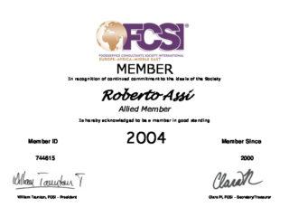 MEMBER Certif 2004 Robert Assi