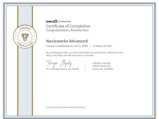 CertificateOfCompletion_Navisworks Advanced